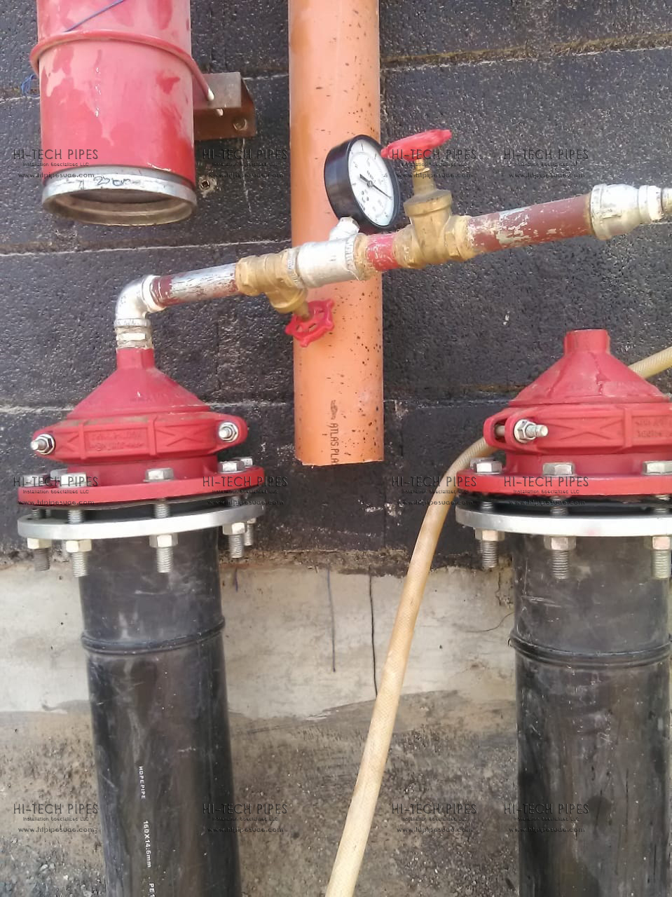 Pressure Testing Project at Dubai | Hi Tech Pipes